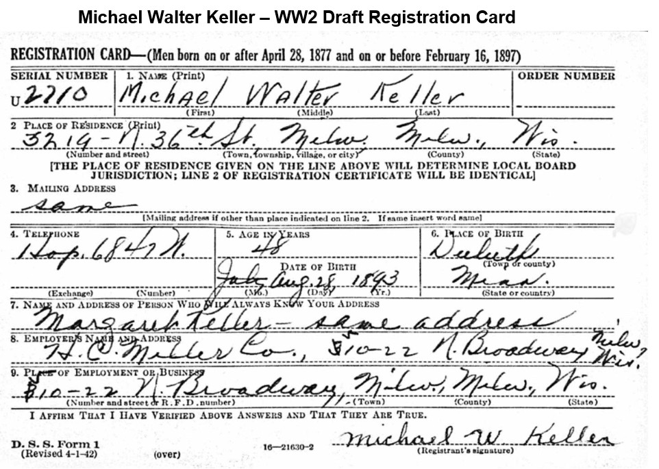 Keller WW2 Draft Card.jpg