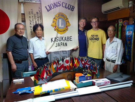 Haddonfield Lions reach all the way to Tokyo