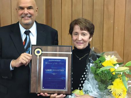 Marie DiMatties Wins Citizen of the Year!