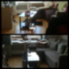 Before After cleaning