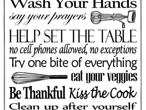 10 kitchen cleaning rules