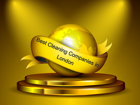 THE BEST CLEANING COMPANIES IN LONDON IN 2020