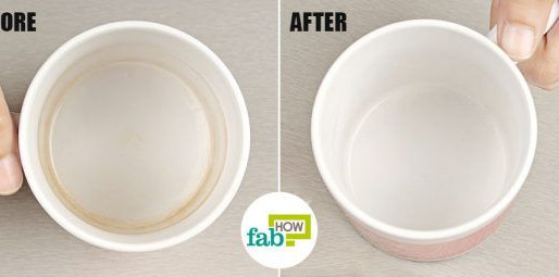 How to Remove Tea and Coffee Stains from Cups and Mugs