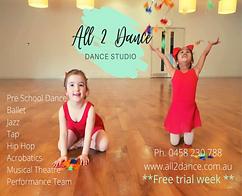 Upper Beaconsfield Short Courses dancing for kids