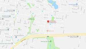 Map to Cardinia Lakes Shopping Centre