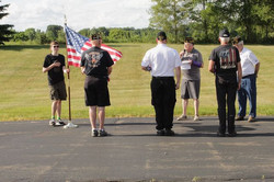 06/14/2021 Flag Day Service held in Grass Lake