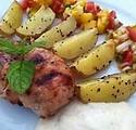 Mangochutney grillad biffrad med salsa.p