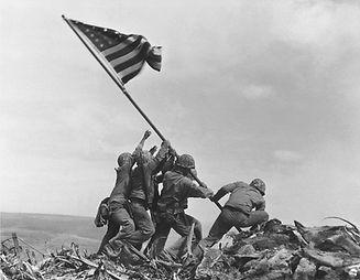 Raising_the_Flag_on_Iwo_Jima_by_Joe_Rose