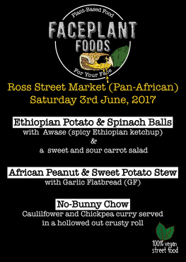 Ross Street Market (Sub-African special) Menu