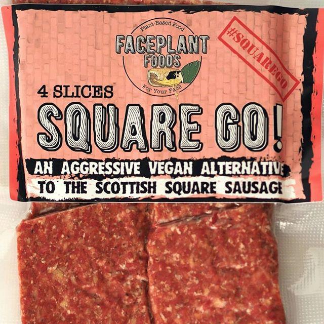 SQUARE GO! - FacePlant Foods Vegan Square Sausage