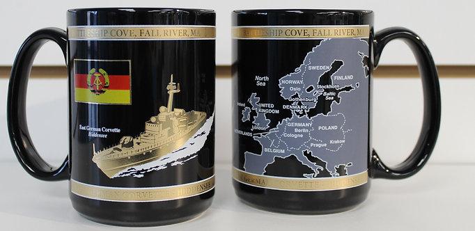 Hiddensee Black & Gold Mug