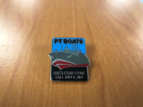 PT Boat Pin