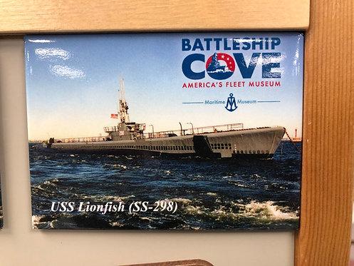 USS Lionfish SS-298 Magnet