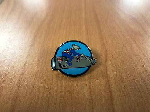 USS Massachusetts George the Gremlin Pin