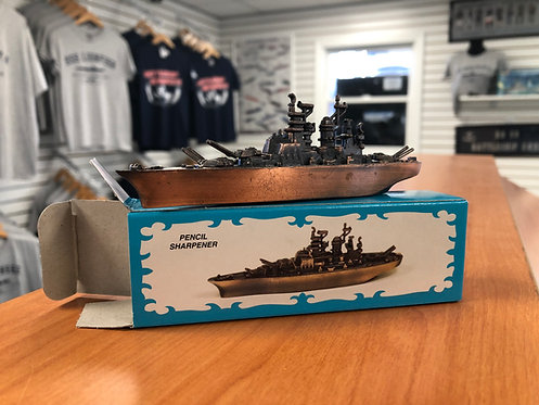 WW2 Battleship Pencil Sharpener