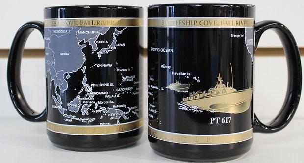 PT-617 Black & Gold Mug