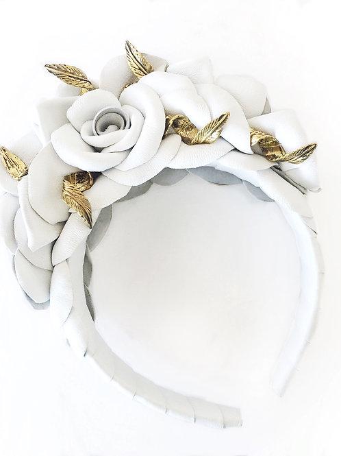 White Rose Turban