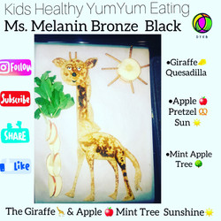 Ms. Melanin Bronze Black