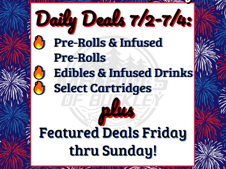 4th of July Sales Start Today!