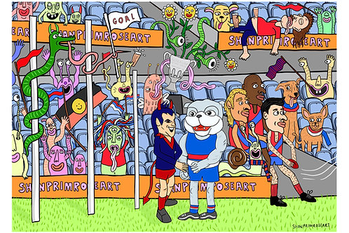 'Creatures of the Grand Final' Print