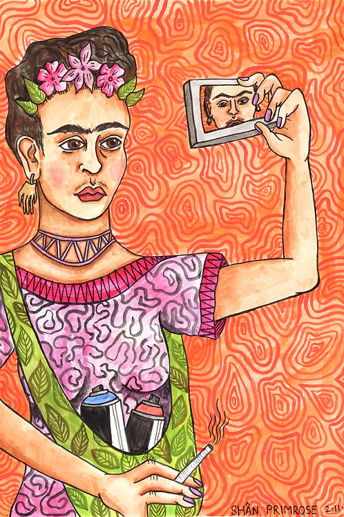 'Frida' Print