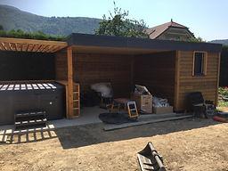 construteur abri jardin bois et pool house, annecy et haute savoie