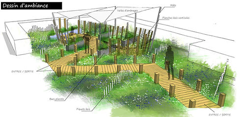 terrasse et ponton bois