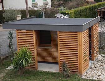installateur pool house bois vallières et annecy