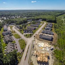 Plainville multifamily neighborhood aerial 3