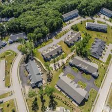 Plainville multifamily neighborhood  aerial1