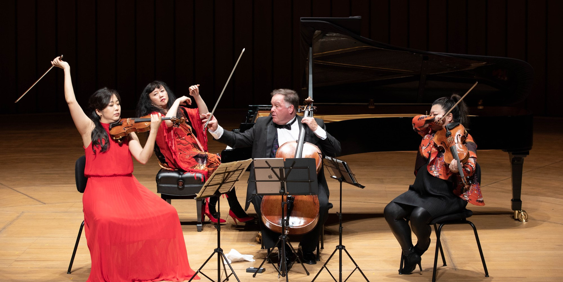 Concert at the National Kaohsiung Center for the Arts (Weiwuying)