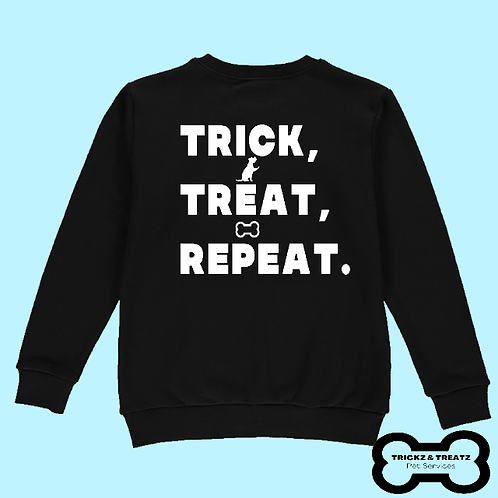 Trick, Treat, Repeat Crew Neck