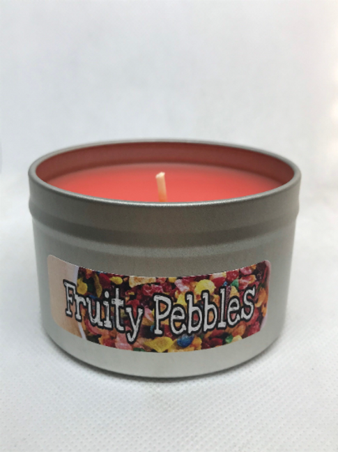 Fruity Pebbles Scented 8oz Candle