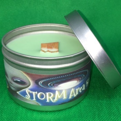 Storm Area 51 8oz Candle