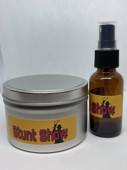 Stunt Show Candle & Spray Combo