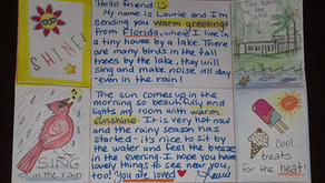 """Volunteer Spotlight: Laurie - How to Make a """"Locking Letter"""""""
