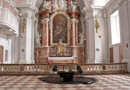 Installationsansicht im Augustinermuseum Rattenberg/ Tirol 2013