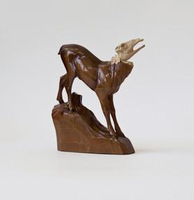 """Hirsch Figur aus Holz, Jagd /ebay Nr.260724091459"""