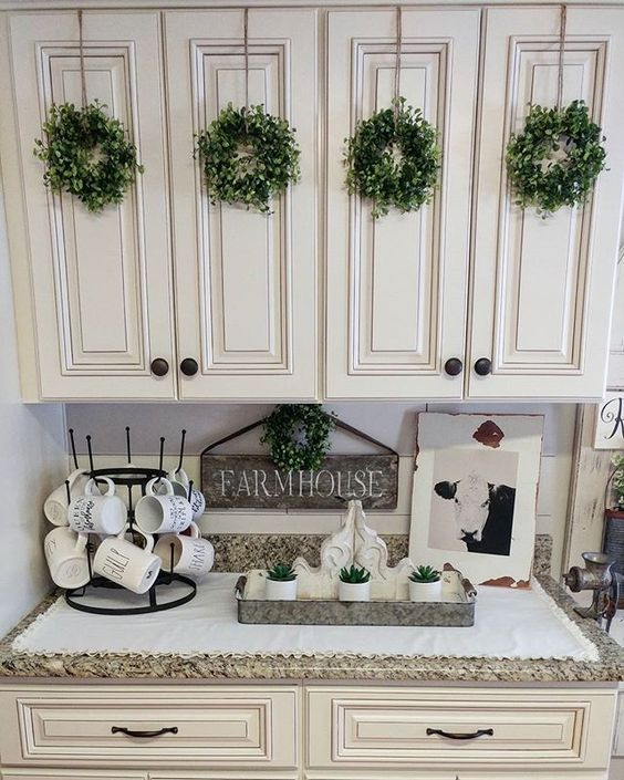 Farmhouse Decor Boxwood Wreaths