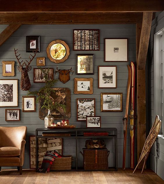 Rustic Wall Arrangement
