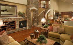 Tuscan Open Living Area