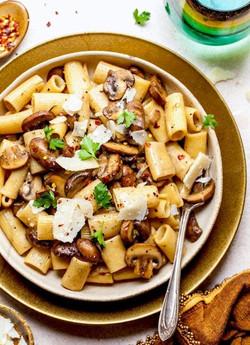 Mushrooms & Pasta