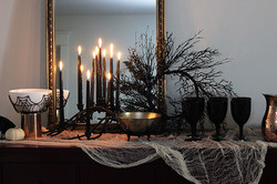 Halloween Black Decor