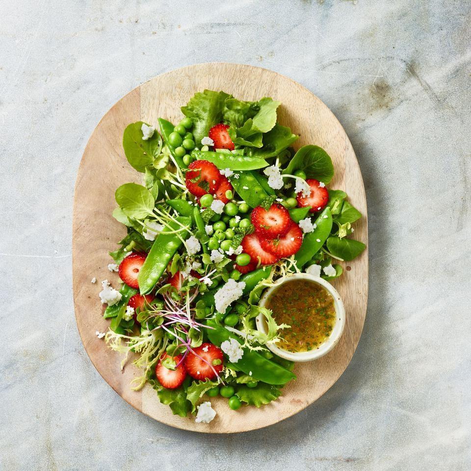 Spring Peas Salad