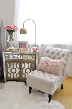 Feminine Sitting Area