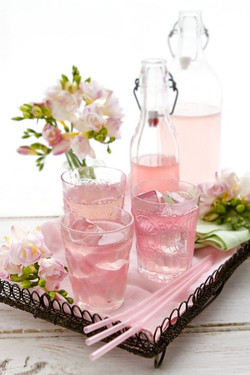 Think Pink Beverage Tray