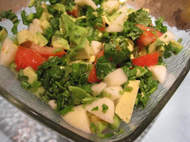 Avocado Pear Salad