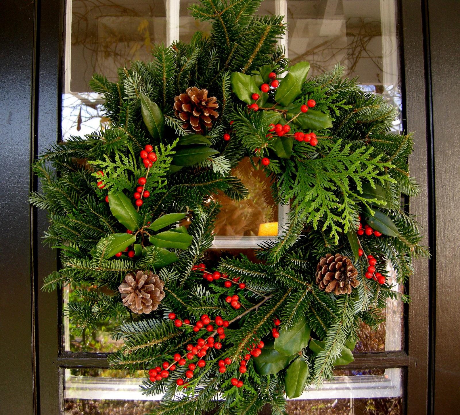 Fresh Festive Wreath