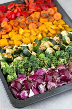 Rainbow Roasted Veggies