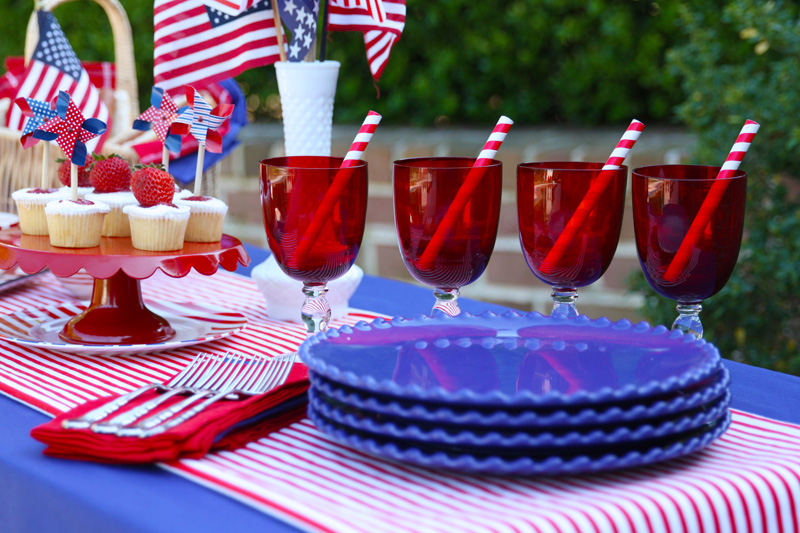 Labor Day Tablescape